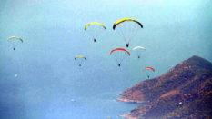 Ölüdeniz'de Yılın İlk Yarısı 35 Bin Uçuş Yapıldı